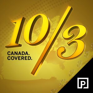 10/3: Canada Covered