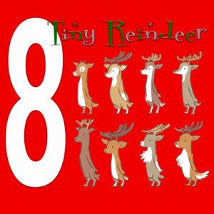 8 Tiny Reindeer